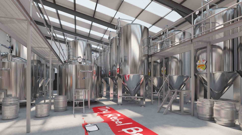 Tiny Rebel Brewery Newport