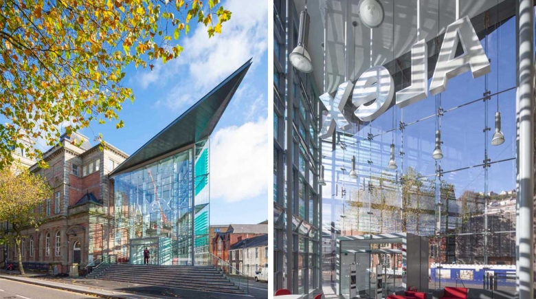 School of Industrial Design (Project Alex), University of Wales Trinity St. David: BREEAM Excellent
